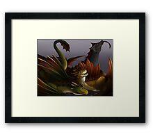 Dragons Three! Framed Print