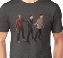 New Girl Guys on Wheels Unisex T-Shirt