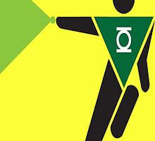 Green Lantern Pictogram by Shadowmark