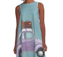 Beetle Stamp A-Line Dress