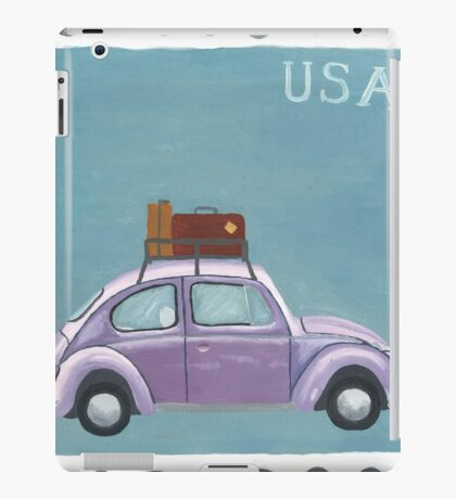 Beetle Stamp iPad Case/Skin
