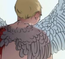 The Guardian Angel Sticker