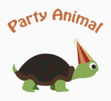 Party Animal - Turtle Kids Tee