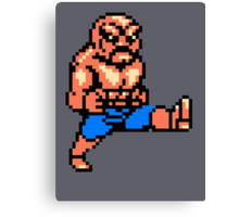 Abobo T-shirt Canvas Print