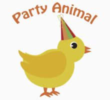 Party Animal - Chick Kids Tee