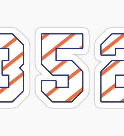 UF 352 Stripe Sticker