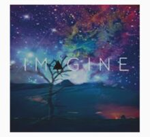 Imagine Tee by SkyBluClothing