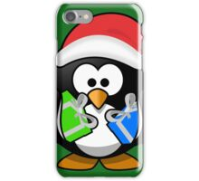 Penguin with Gifts iPhone Case/Skin