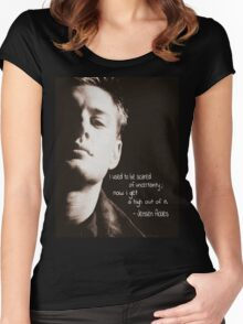 Jensen Ackles Women's Fitted Scoop T-Shirt