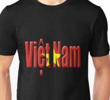 Digital illustration - Vietnam flag Unisex T-Shirt