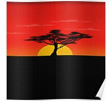 African Sky Poster