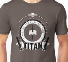 Pledge Eternal Service to Titan - Limited Edition Unisex T-Shirt