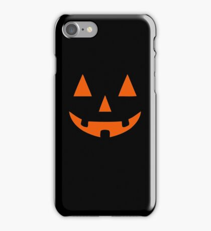 JACK O' LANTERN Pumpkin Halloween iPhone Case/Skin