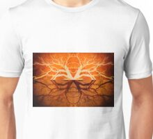Tree Reflection of Copper Unisex T-Shirt
