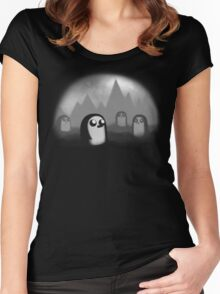 Evil Penguin Women's Fitted Scoop T-Shirt