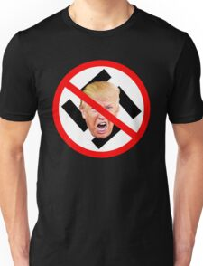 F off Nazi Trump Unisex T-Shirt