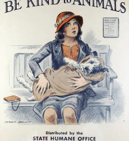 Be Kind To Animals (1934) Sticker