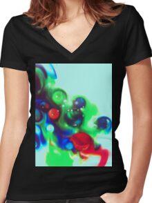 Spill II - Anne Winkler Women's Fitted V-Neck T-Shirt