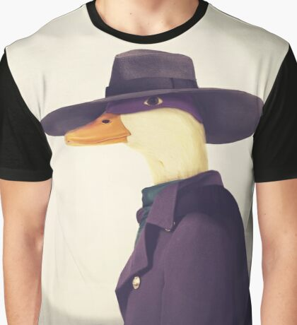 Justice Ducks - The Terror Graphic T-Shirt