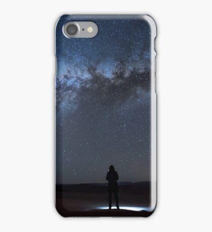 Alone at Atacama iPhone Case/Skin