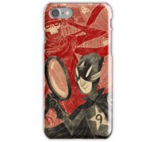 Mr. 9 and the Strange Case of the Crimson Cowl iPhone Case/Skin