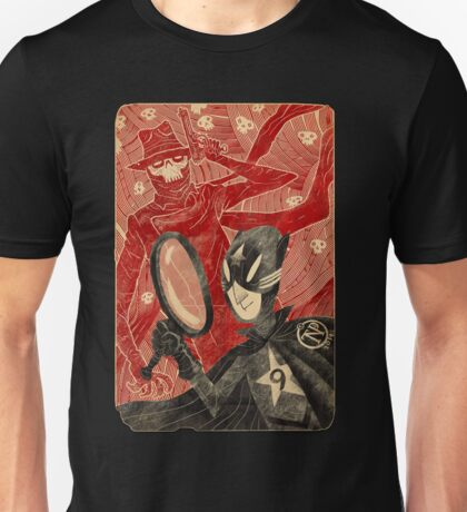 Mr. 9 and the Strange Case of the Crimson Cowl T-Shirt
