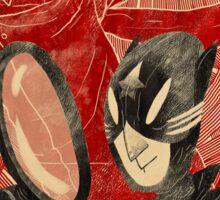 Mr. 9 and the Strange Case of the Crimson Cowl Sticker