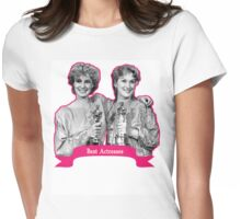 Jessica Lange and Meryl Streep  Womens Fitted T-Shirt