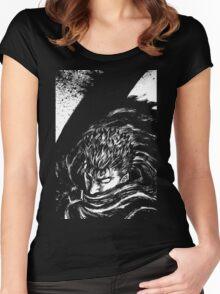 Black Swordsman Women's Fitted Scoop T-Shirt