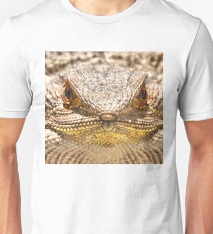Bearded Dragon Close Up Unisex T-Shirt