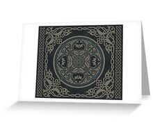 Celtic Mandala Greeting Card