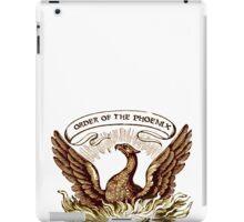 The Order of the Phoenix iPad Case/Skin