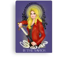 Swan is the Savior Canvas Print