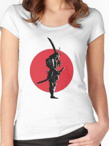 Bounty Hunter Samurai Women's Fitted Scoop T-Shirt