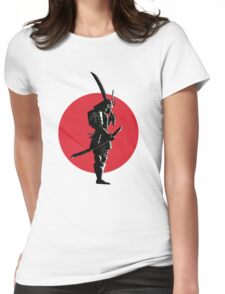Bounty Hunter Samurai Womens Fitted T-Shirt