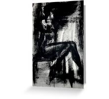 The Sensual Blue, 2 Greeting Card