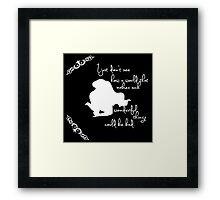 Disney Princesses: Ariel (The Little Mermaid) *White version* Framed Print