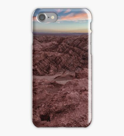 Atacama sunset  iPhone Case/Skin