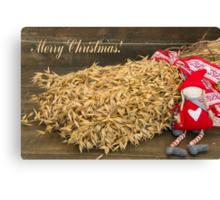 Christmas sheaves Canvas Print
