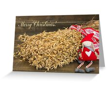 Christmas sheaves Greeting Card