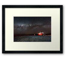 Astro tour Framed Print