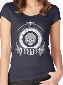 Pledge Eternal Service to Kronus - Limited Edition Women's Fitted Scoop T-Shirt
