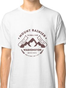 Mount Rainer Washington Classic T-Shirt