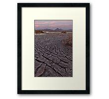 Las heridas de la tierra Framed Print