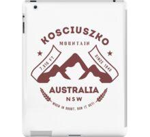 Mount Kosciuszko Australia iPad Case/Skin