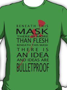 Bullet-Proof Ideas T-Shirt