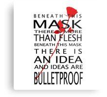 Bullet-Proof Ideas Metal Print