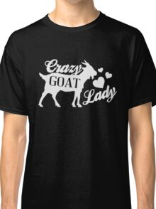 Crazy Goat Lady - Funny Humor Goat Lover  Classic T-Shirt