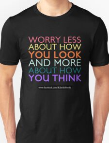 KALEIDO BOOKS AND GIFTS - WORRY LESS T-Shirt