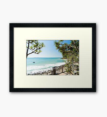 Little Cove White Wash Framed Print